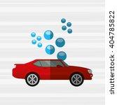 car wash design  | Shutterstock .eps vector #404785822