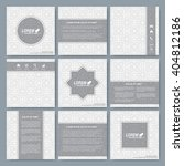 modern vector templates for... | Shutterstock .eps vector #404812186
