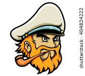 mascot illustration of navy... | Shutterstock .eps vector #404824222