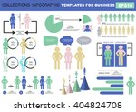 collection of infographic... | Shutterstock .eps vector #404824708