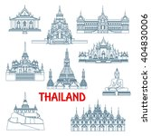 Thailand Travel Landmarks With...