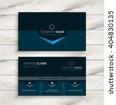 dark blue business card | Shutterstock .eps vector #404830135
