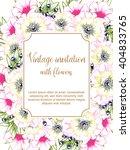 romantic invitation. wedding ... | Shutterstock . vector #404833765