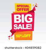 sale banner  special offer  50... | Shutterstock .eps vector #404859082