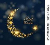 eid mubarak vector background | Shutterstock .eps vector #404871028