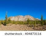 mount lassen with deposit of... | Shutterstock . vector #404873116
