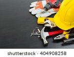 tools manual hardware blank... | Shutterstock . vector #404908258