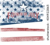 4th of july american ... | Shutterstock .eps vector #404922865