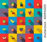 fruits set | Shutterstock .eps vector #404943205