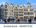 brussels  belgium   march 16 ... | Shutterstock . vector #404947132