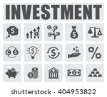 investment icons set | Shutterstock .eps vector #404953822