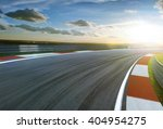motion blurred racetrack cold... | Shutterstock . vector #404954275