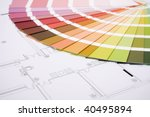 color samples for selection