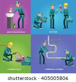 detailed character proffesional ... | Shutterstock .eps vector #405005806