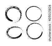 black chinese brush draw the... | Shutterstock .eps vector #405015826