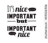 hand drawn typography design.... | Shutterstock .eps vector #405026506