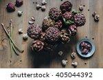 foodstyle. artichoke. artwork.... | Shutterstock . vector #405044392