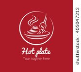 restaurant and food court logo | Shutterstock .eps vector #405047212