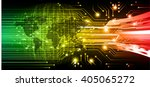 green red abstract hi speed... | Shutterstock .eps vector #405065272