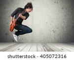 guitar. | Shutterstock . vector #405072316