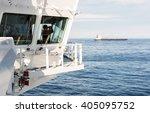 Navigation Bridge Of Oil Tanker ...