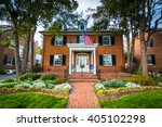 house along second street  in... | Shutterstock . vector #405102298