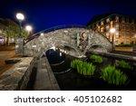 bridge over carroll creek at... | Shutterstock . vector #405102682