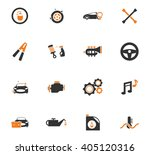 car shop  icon set for web... | Shutterstock .eps vector #405120316