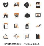 e commerce icon set for web... | Shutterstock .eps vector #405121816