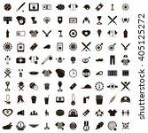 100 baseball icons | Shutterstock . vector #405125272