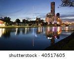 Melbourne  Australia.  Yarra...