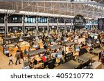 lisbon  portugal   october 19 ... | Shutterstock . vector #405210772