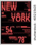 nyc   new york district   stock ...   Shutterstock .eps vector #405215635