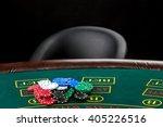 poker play. chips  | Shutterstock . vector #405226516