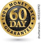 60 day 100   money back...   Shutterstock .eps vector #405233992