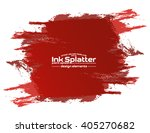 abstract black ink splash... | Shutterstock .eps vector #405270682