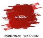 abstract black ink splash... | Shutterstock .eps vector #405270682