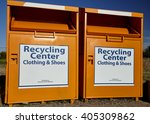 recycling center collection... | Shutterstock . vector #405309862