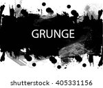 ink splash background . black... | Shutterstock .eps vector #405331156