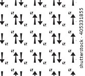 seamless black arrow pattern....