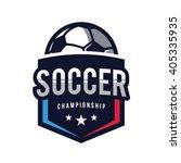 soccer logos  american logo...   Shutterstock .eps vector #405335935