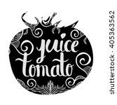 creative typographic poster... | Shutterstock .eps vector #405363562