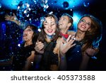 young people having fun at party | Shutterstock . vector #405373588