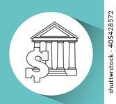 money concept design  | Shutterstock .eps vector #405428572