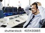 Businessman Stress Recession...