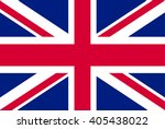 united kingdom or england   uk... | Shutterstock .eps vector #405438022