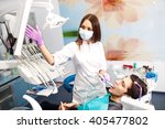 overview of dental caries... | Shutterstock . vector #405477802