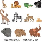 vector illustration set of... | Shutterstock .eps vector #405481942