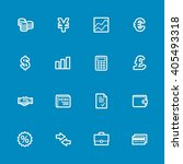 finance web icons set | Shutterstock .eps vector #405493318