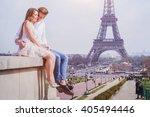romantic love  affectionate... | Shutterstock . vector #405494446